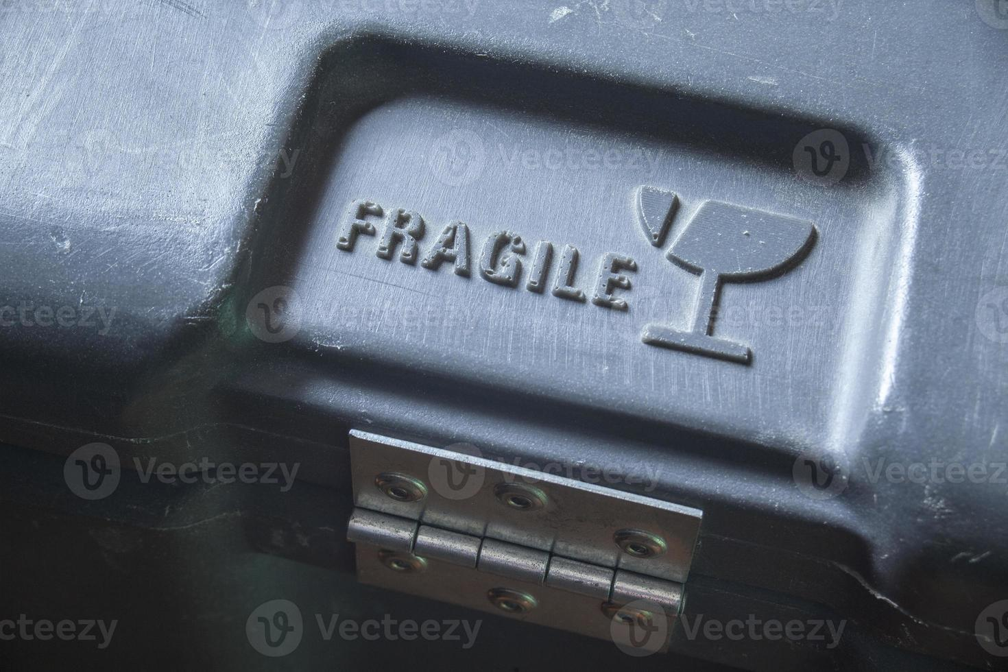 Fragile warning photo