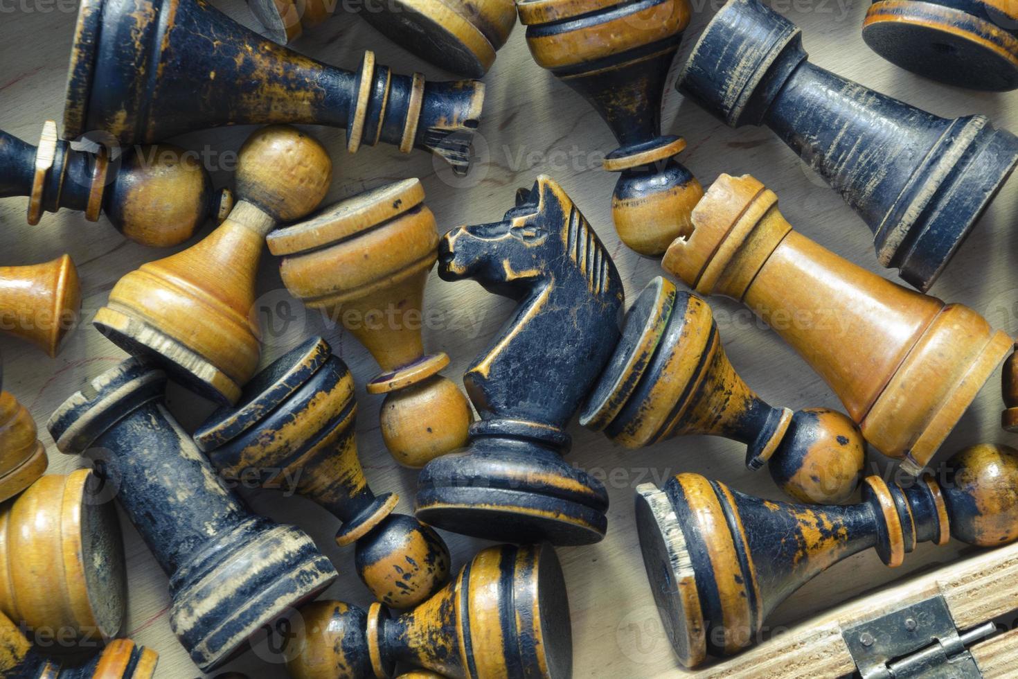 vintage chess set photo