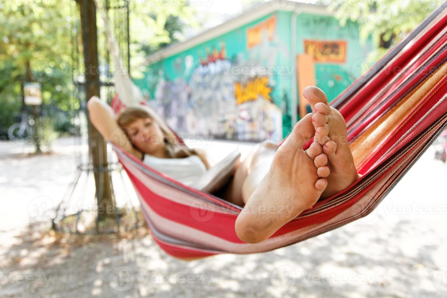 Hammock feet photo