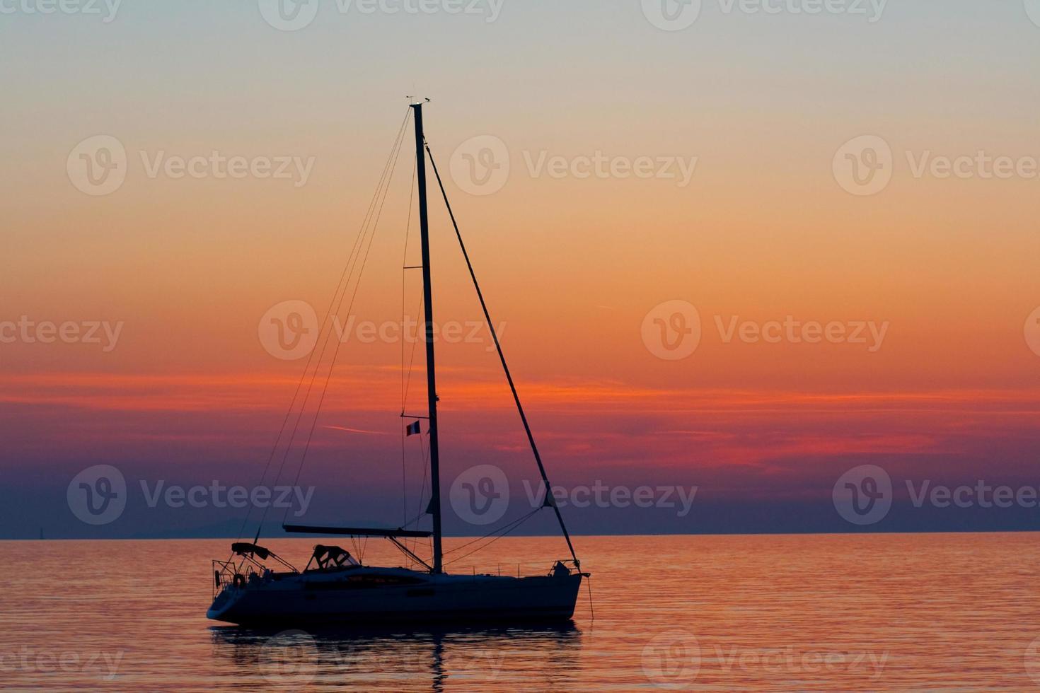Colorful Fishing Boat, Greece photo