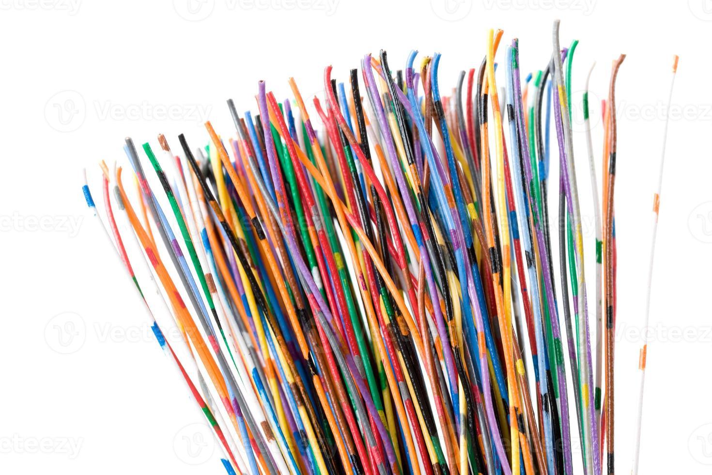 cable colorido foto
