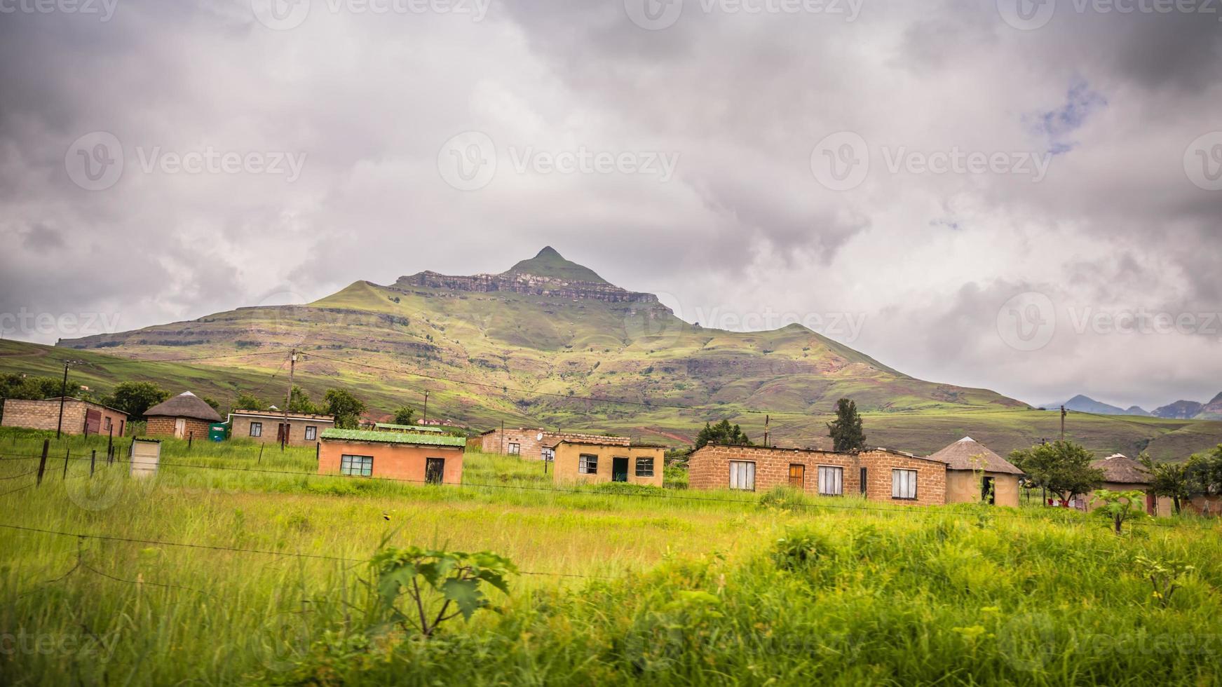 en el camino a Drakensberg foto