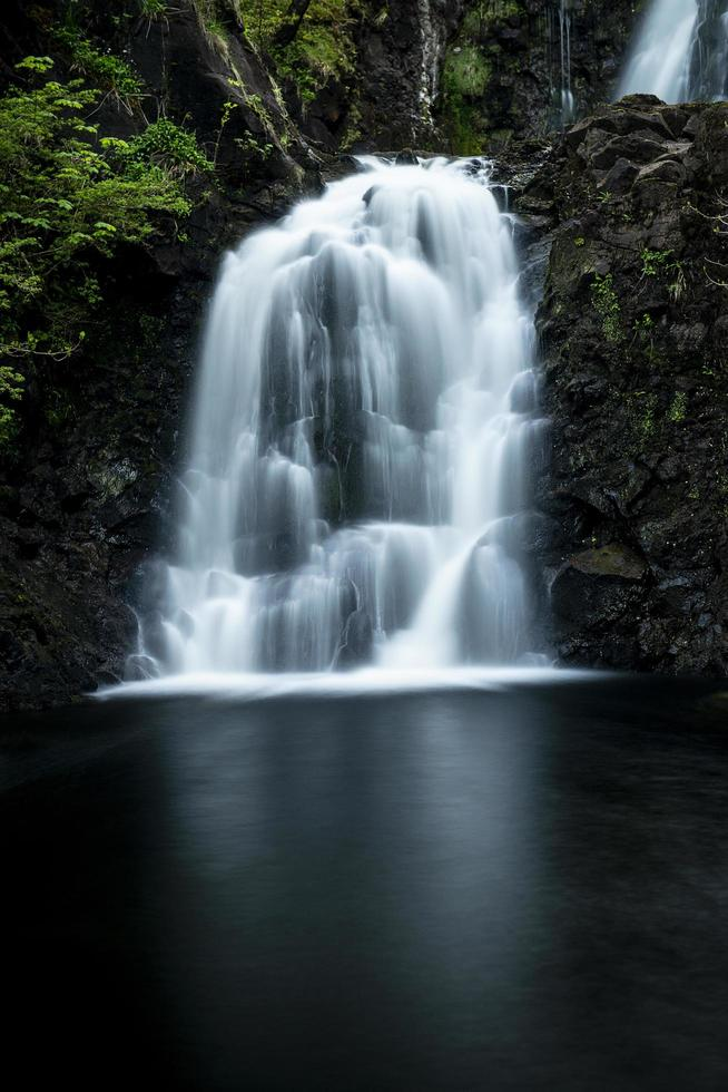 Waterfall in the United Kingdom photo