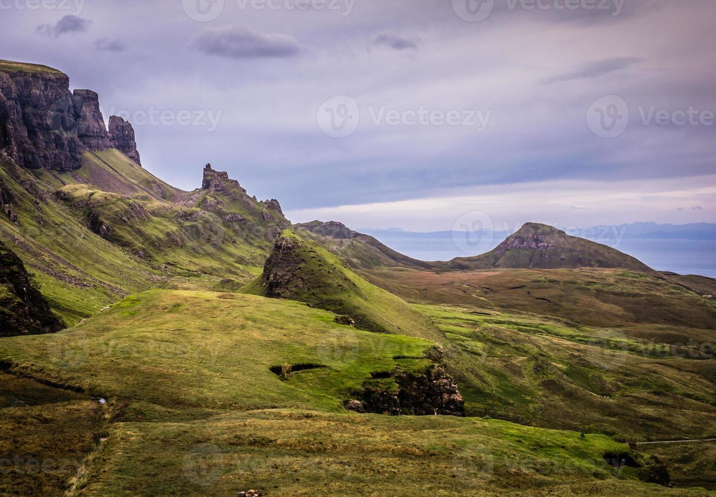 Quiraing, Isle of Skye, Scotland photo
