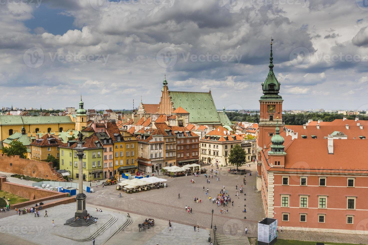 Warsaw's historic Old Town photo