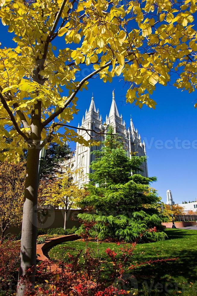 Mormon Temple Square photo