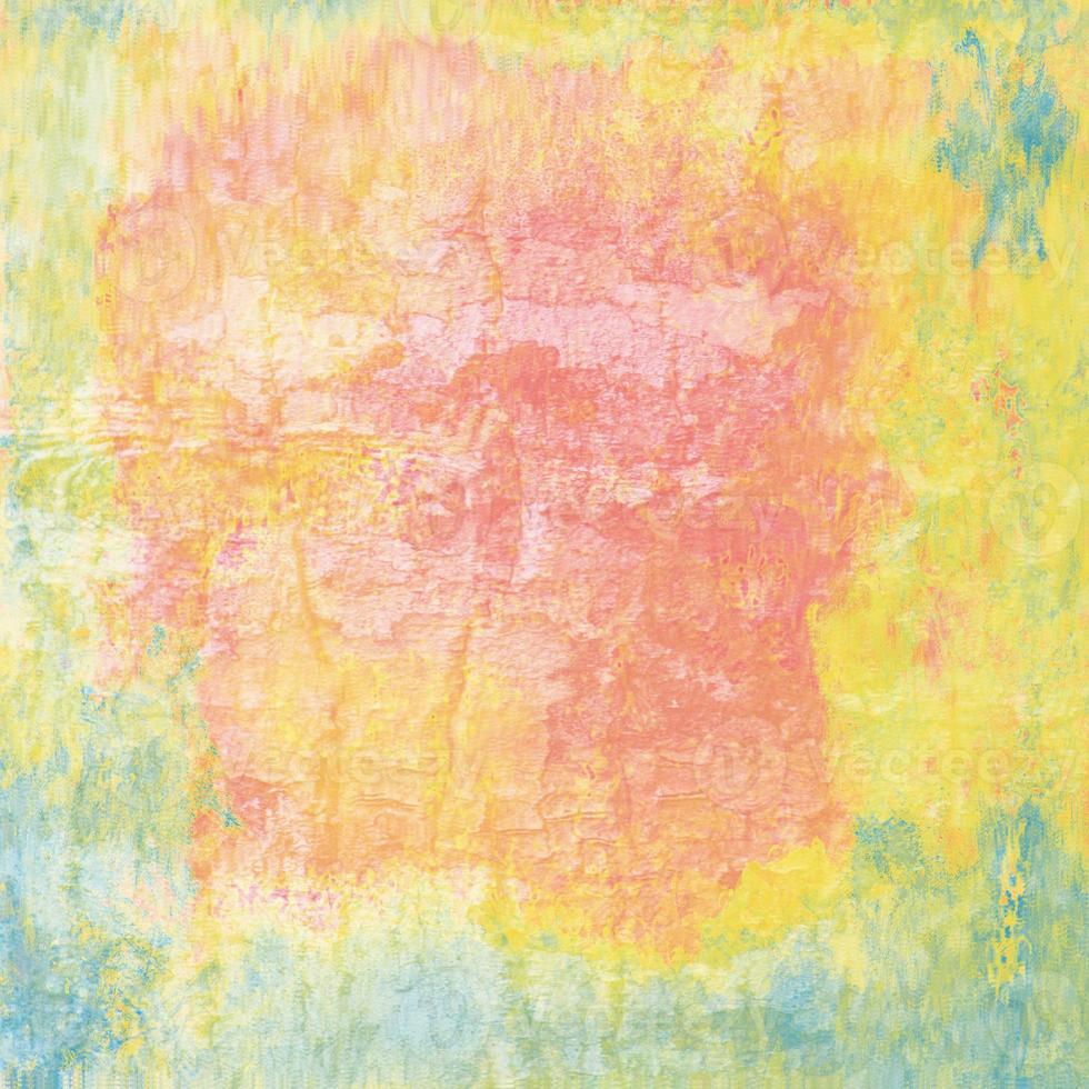 Pink, Yellow and Blue Texture photo