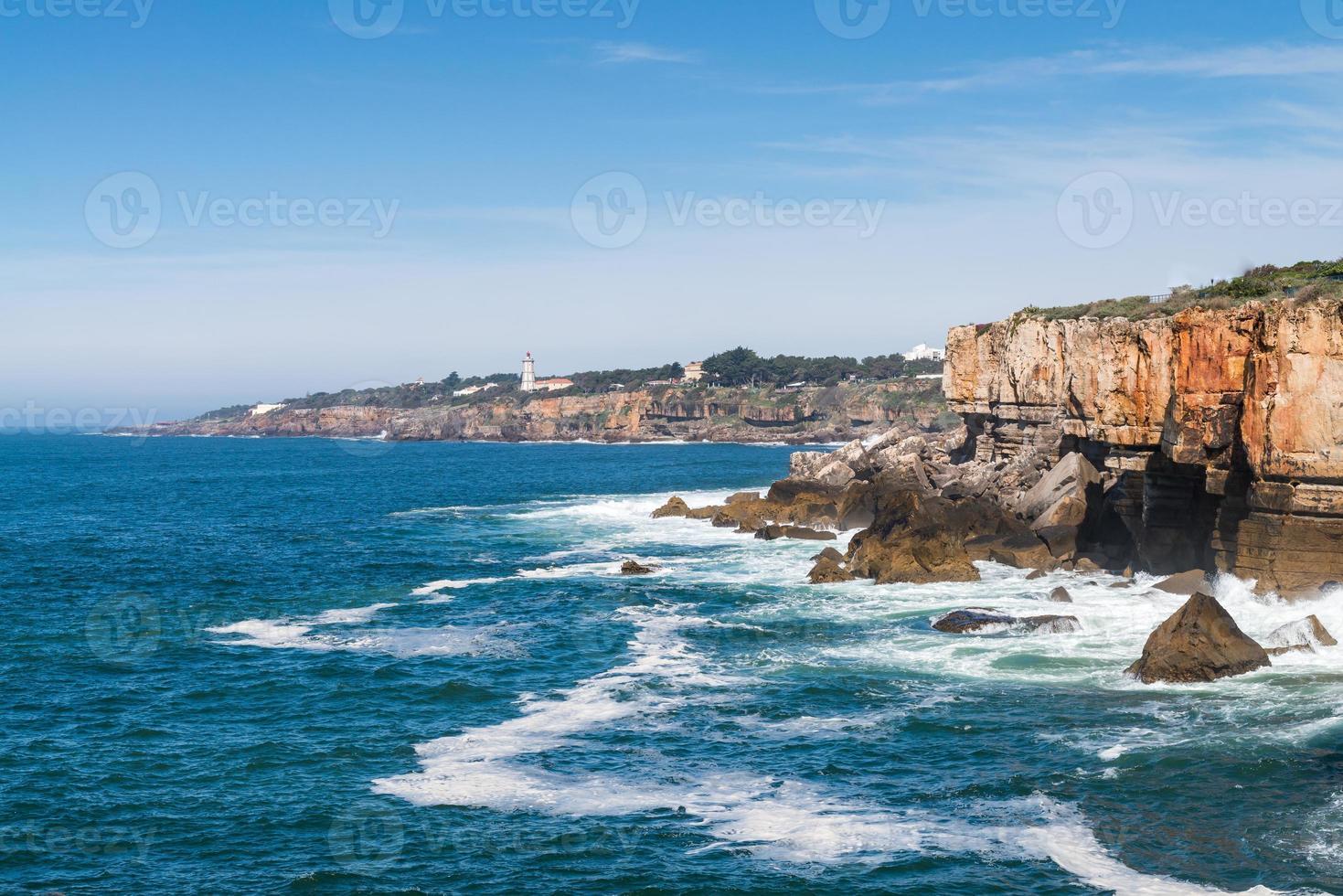 Coastline of Cascais photo