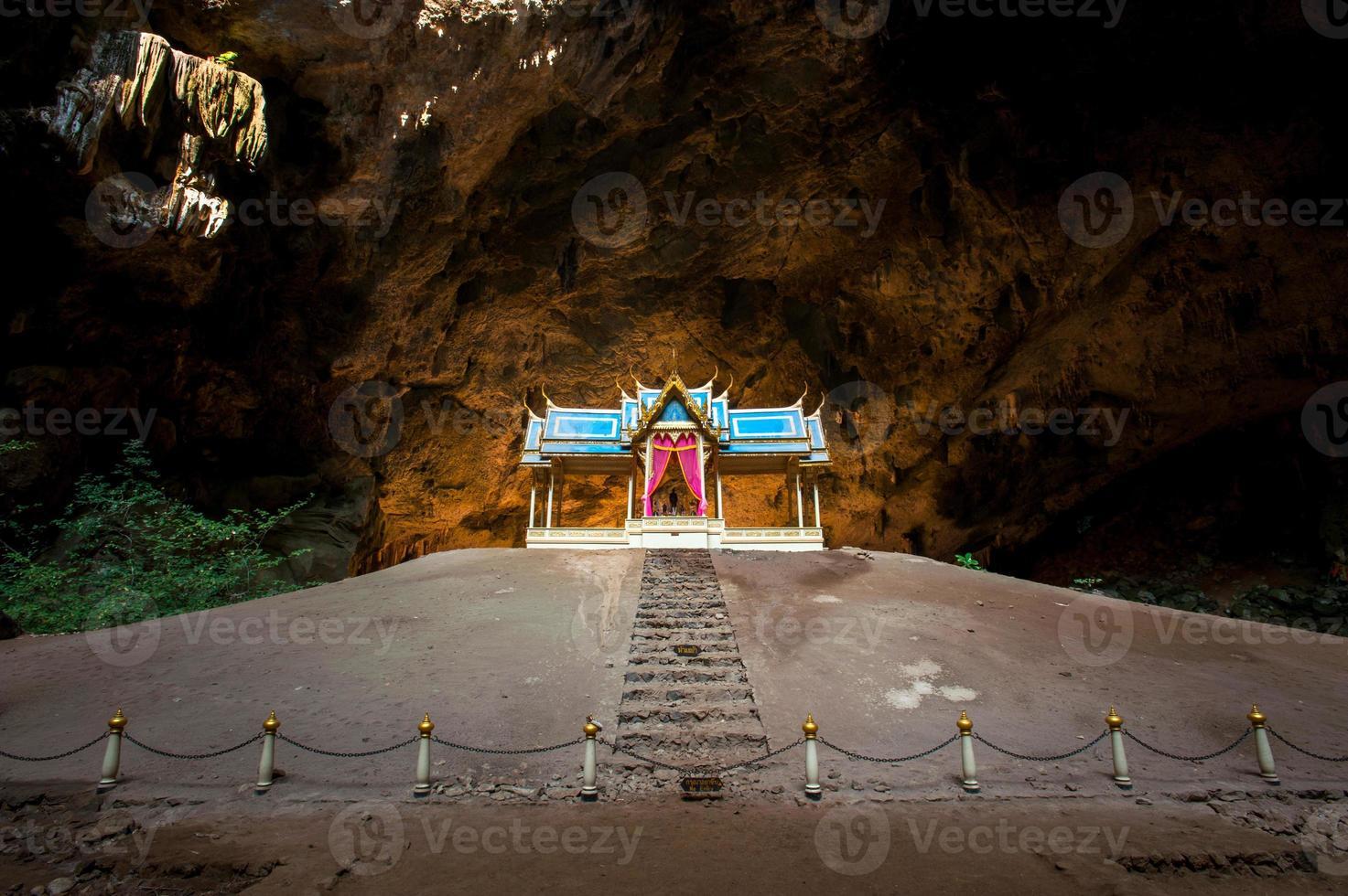 Royal pavilion in the Phraya Nakhon Cave photo