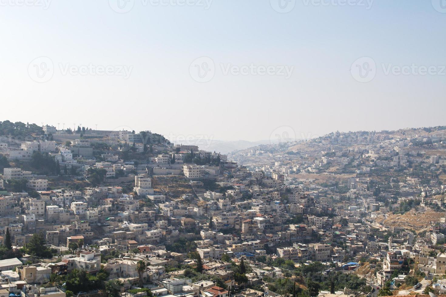 Silwan Village in Jerusalem. photo