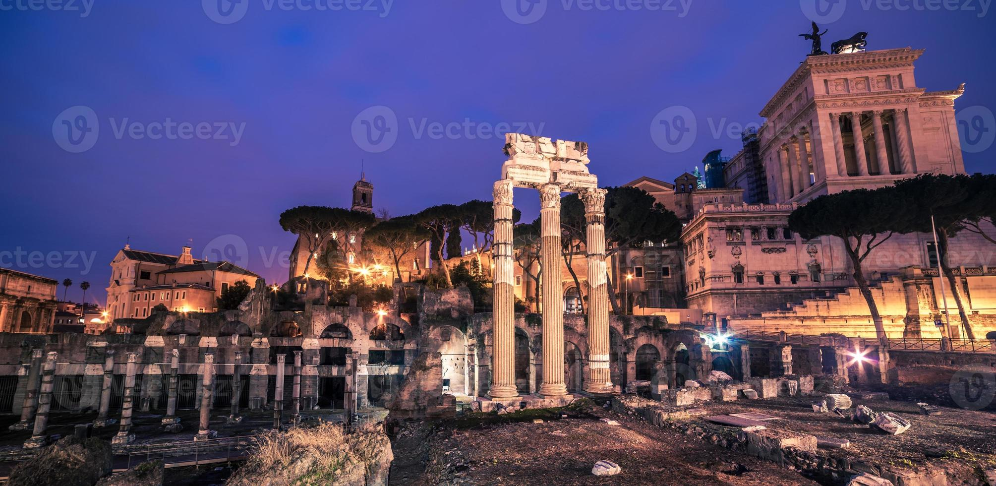 Rome, Italy: The Roman Forum and Old Town photo