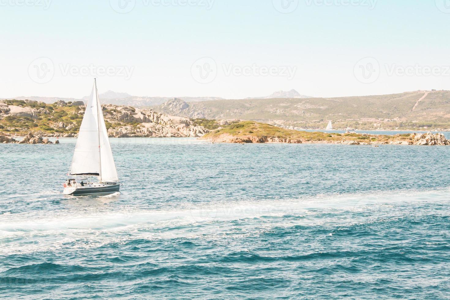 Mediterranean sailing photo