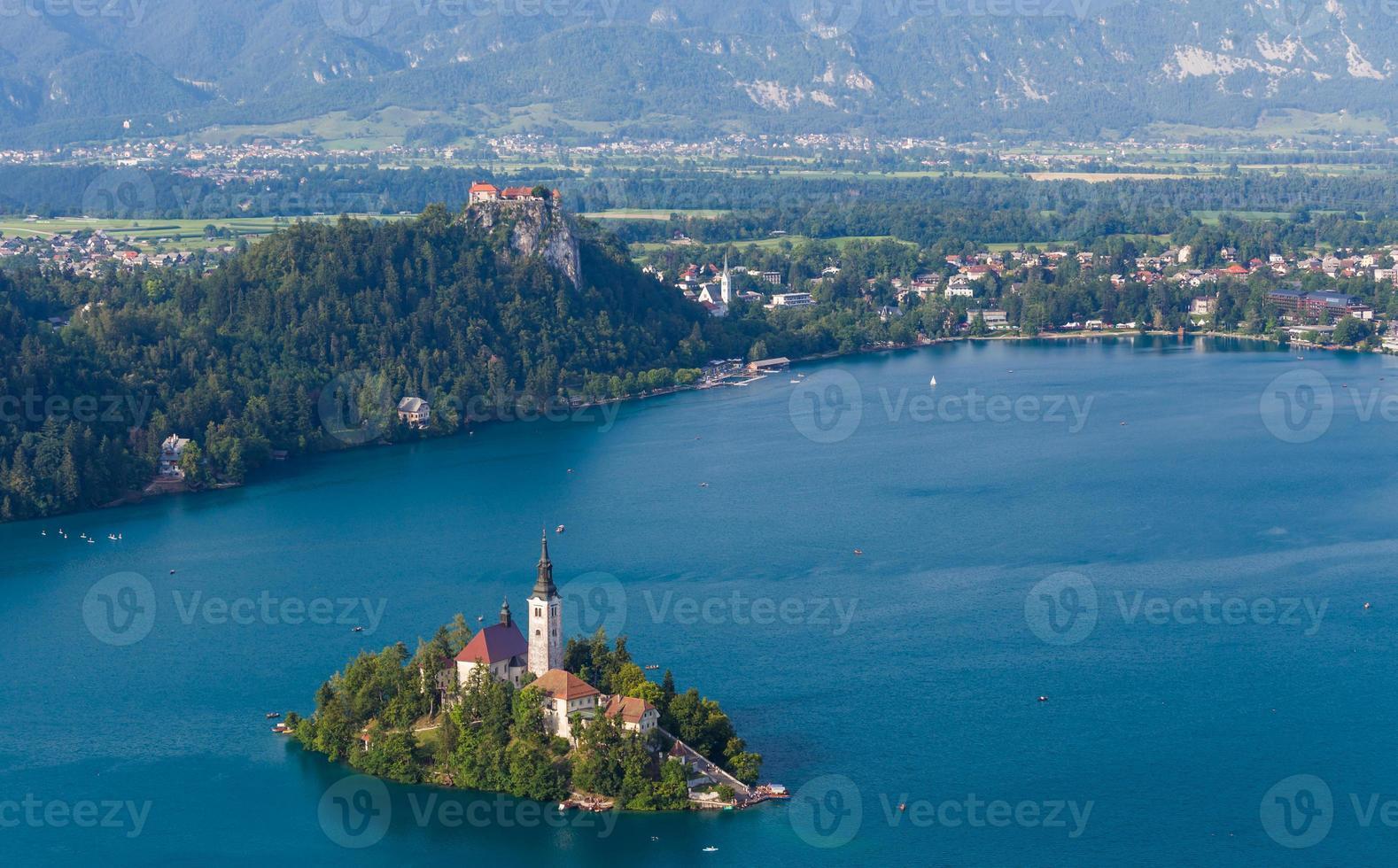 Lago Bled, Eslovenia, Europa foto