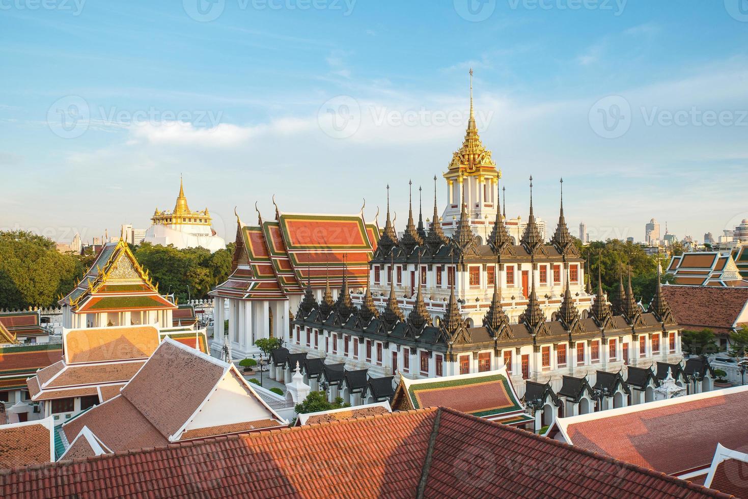 Wat Ratchanaddaram and Loha Prasat Metal Palace in Bangkok ,Thai photo