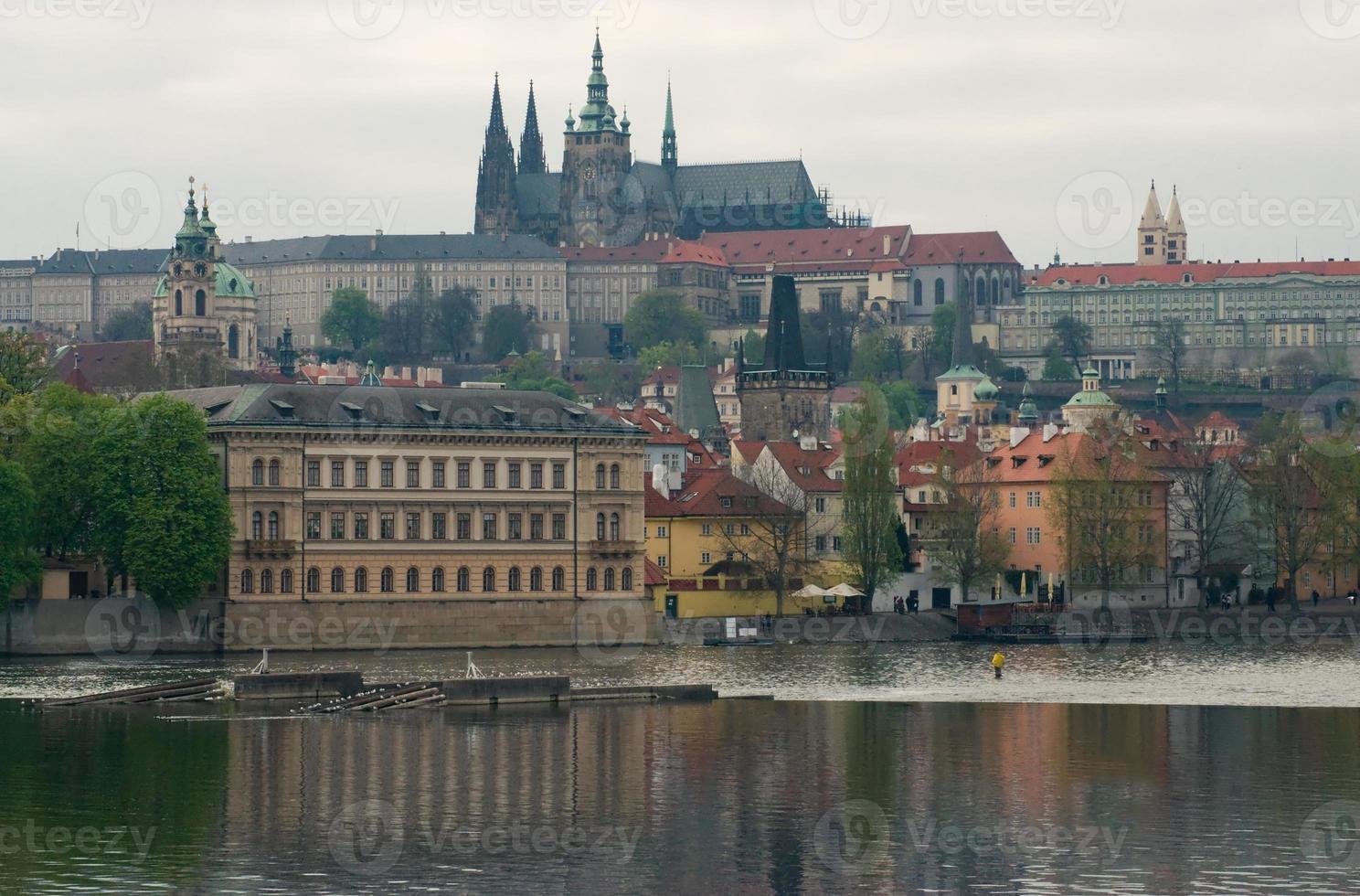 View of Prague Castle photo