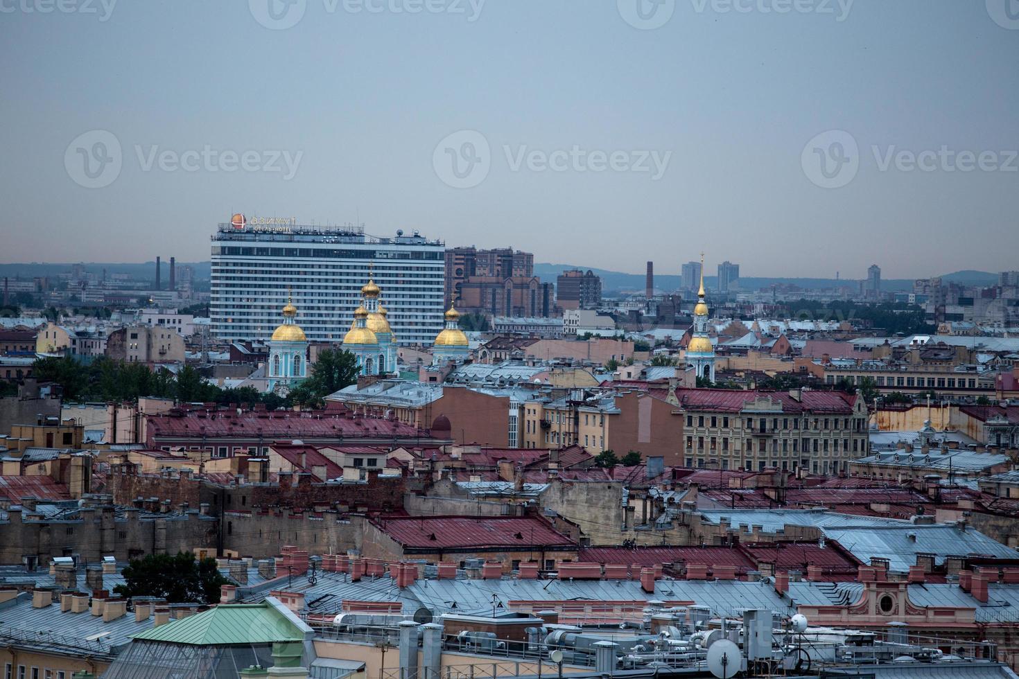 Panorama of St Petersburg photo