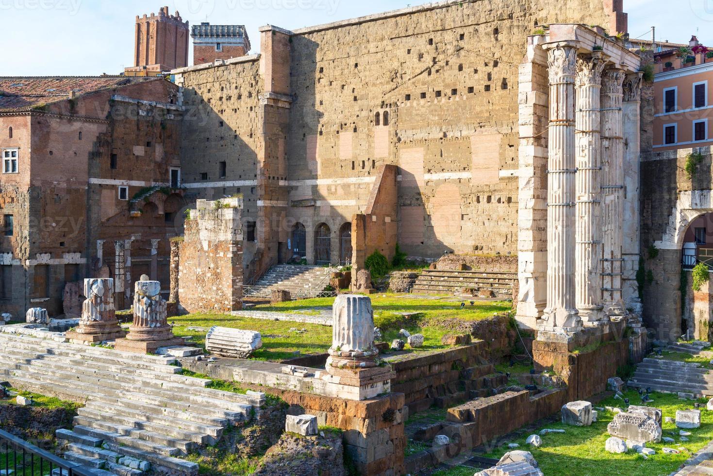 Forum of Augustus in Rome, Italy photo