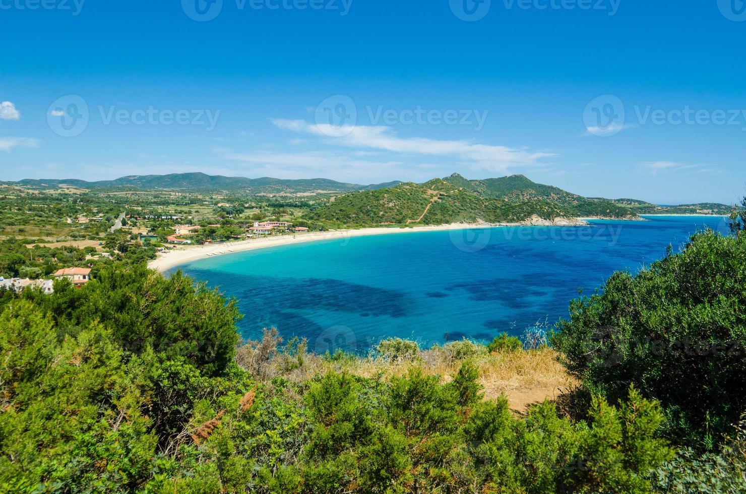 South coast of Sardinia photo