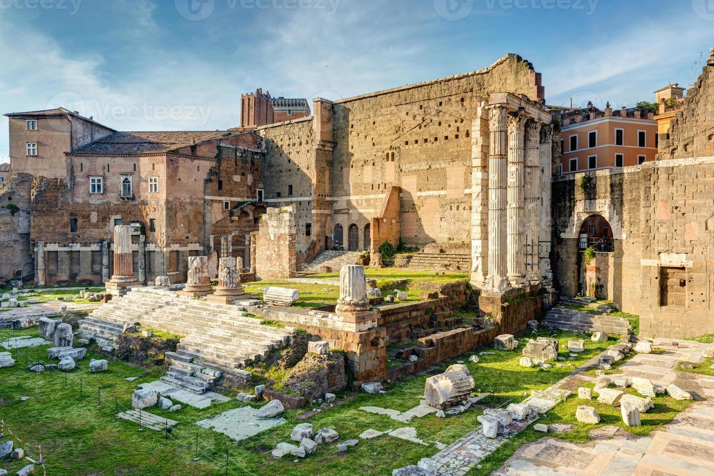 Forum of Augustus in Rome photo