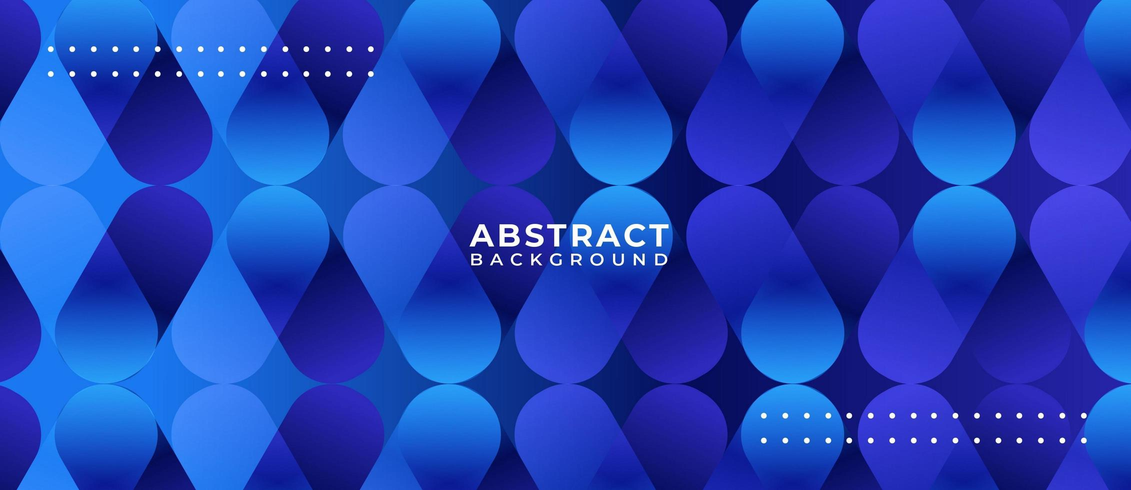 Blue Gradient Capsule Shape Abstract Background vector