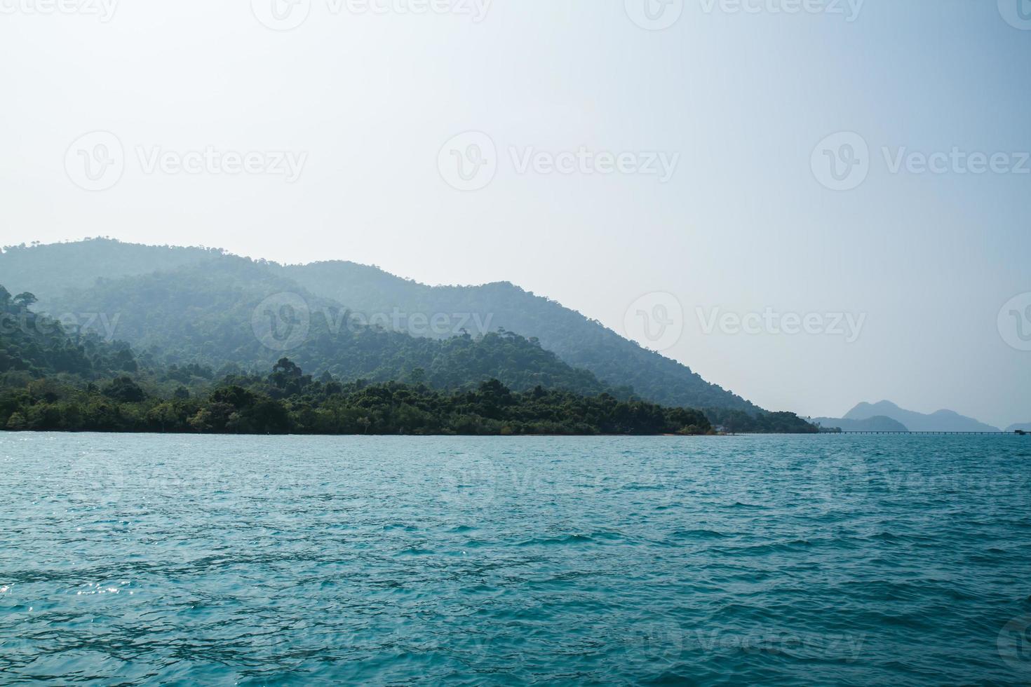 view of Koh Chang island,Thailand photo
