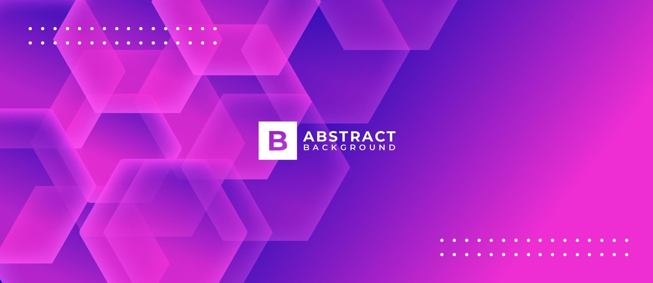 Purple Pink Geometric Shape Abstract Background vector