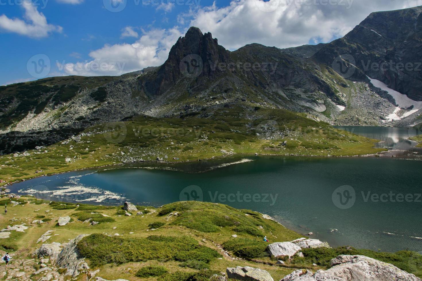 The Twin, The Seven Rila Lakes, Rila Mountain photo