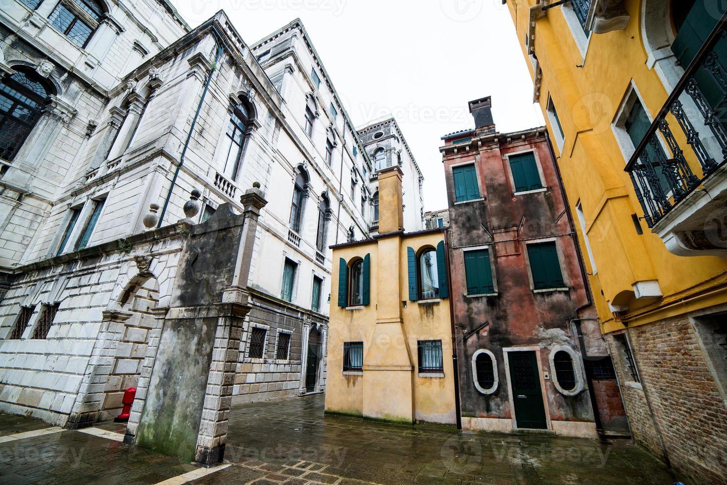 Old buildings Venice photo