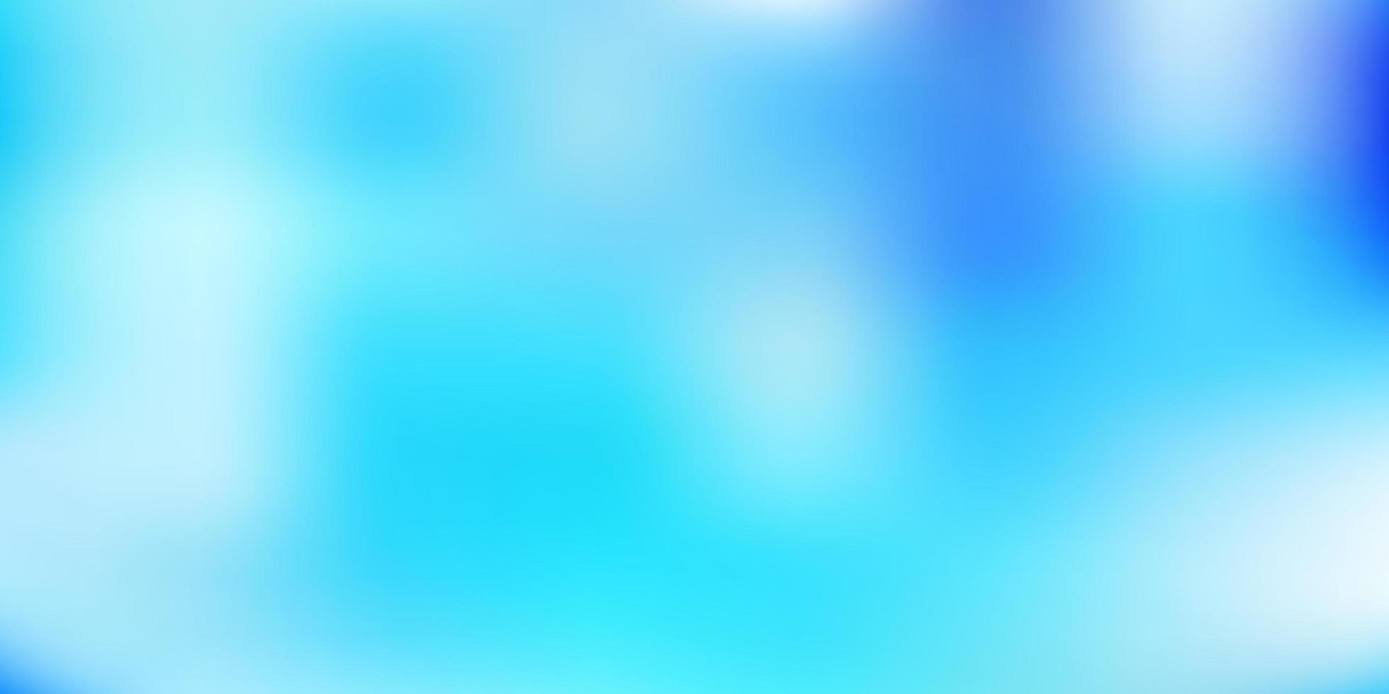 Fondo borroso degradado azul claro. vector