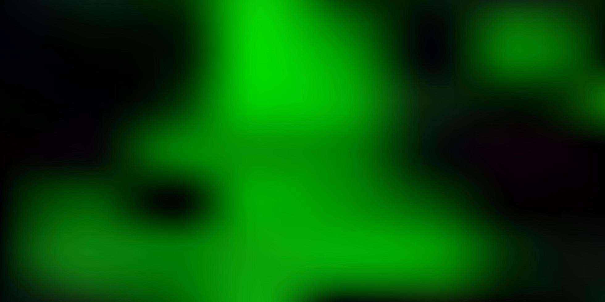 Green gradient blur pattern. vector