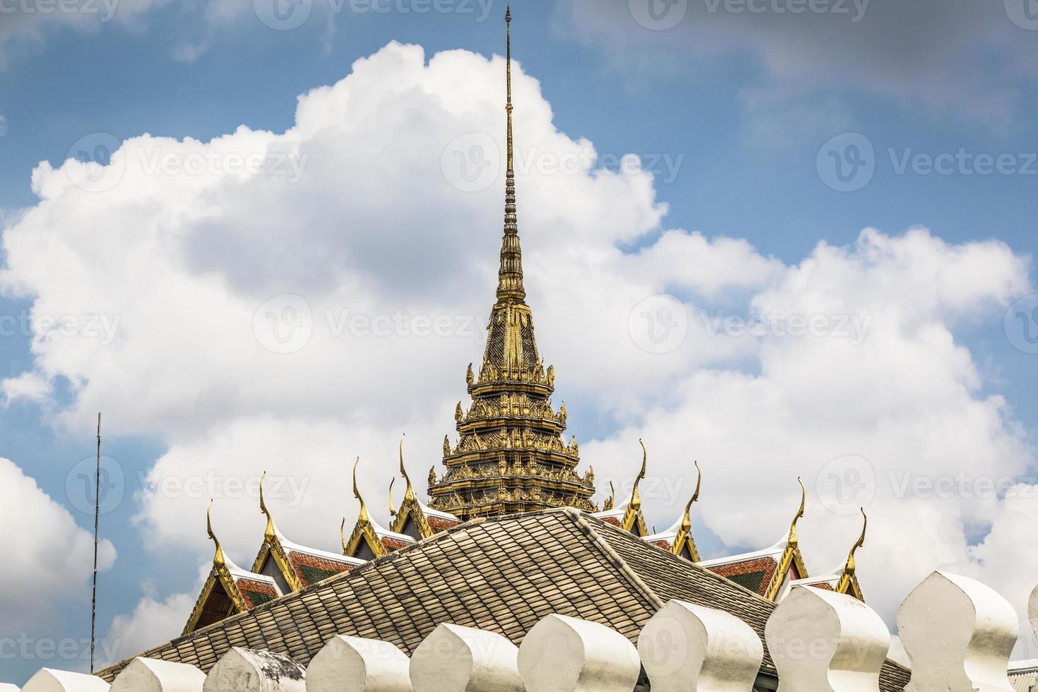 Roof in Grand Palace, Bangkok, Thailand. photo