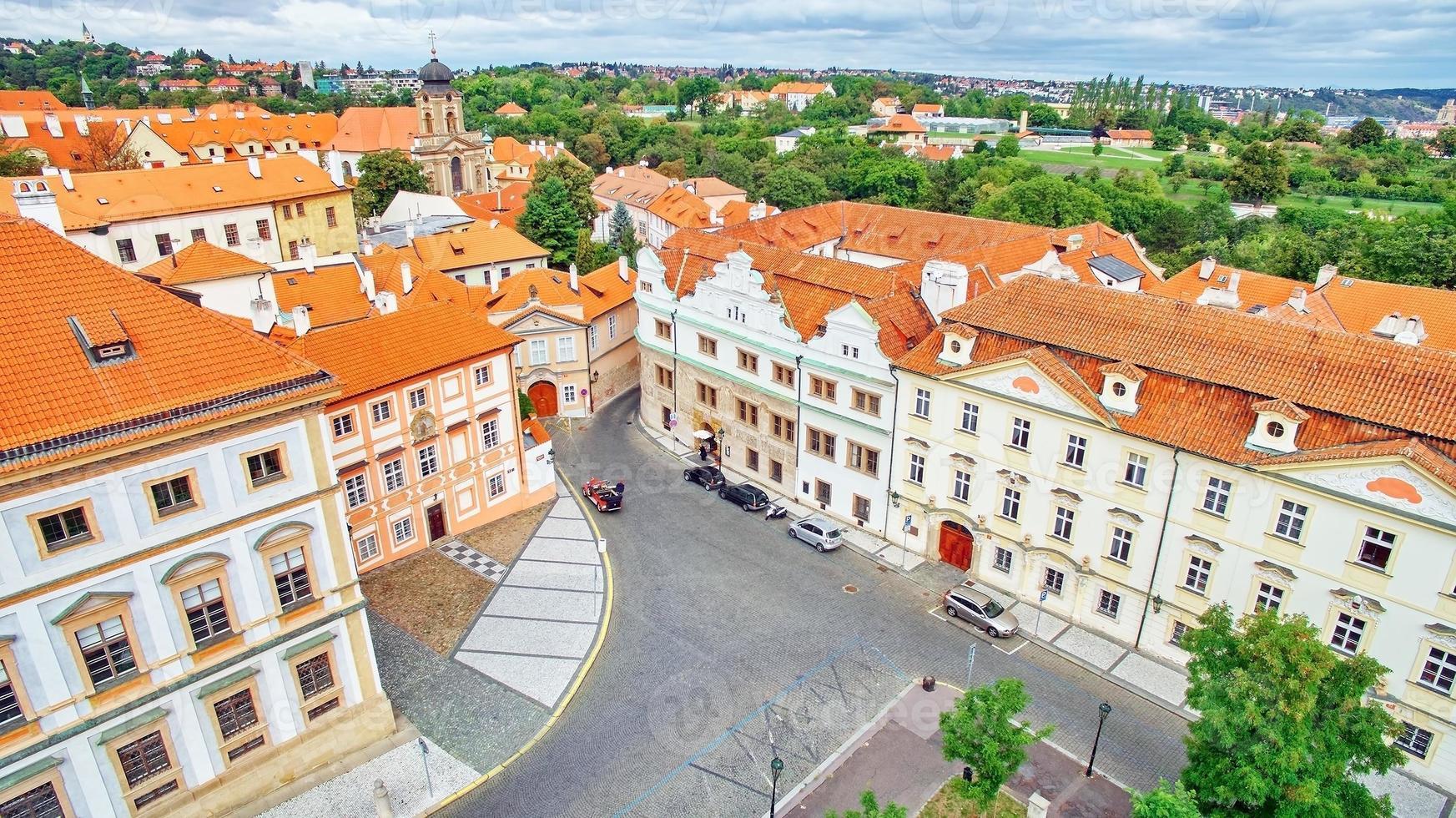 zona del castillo de praga. Republica checa. foto