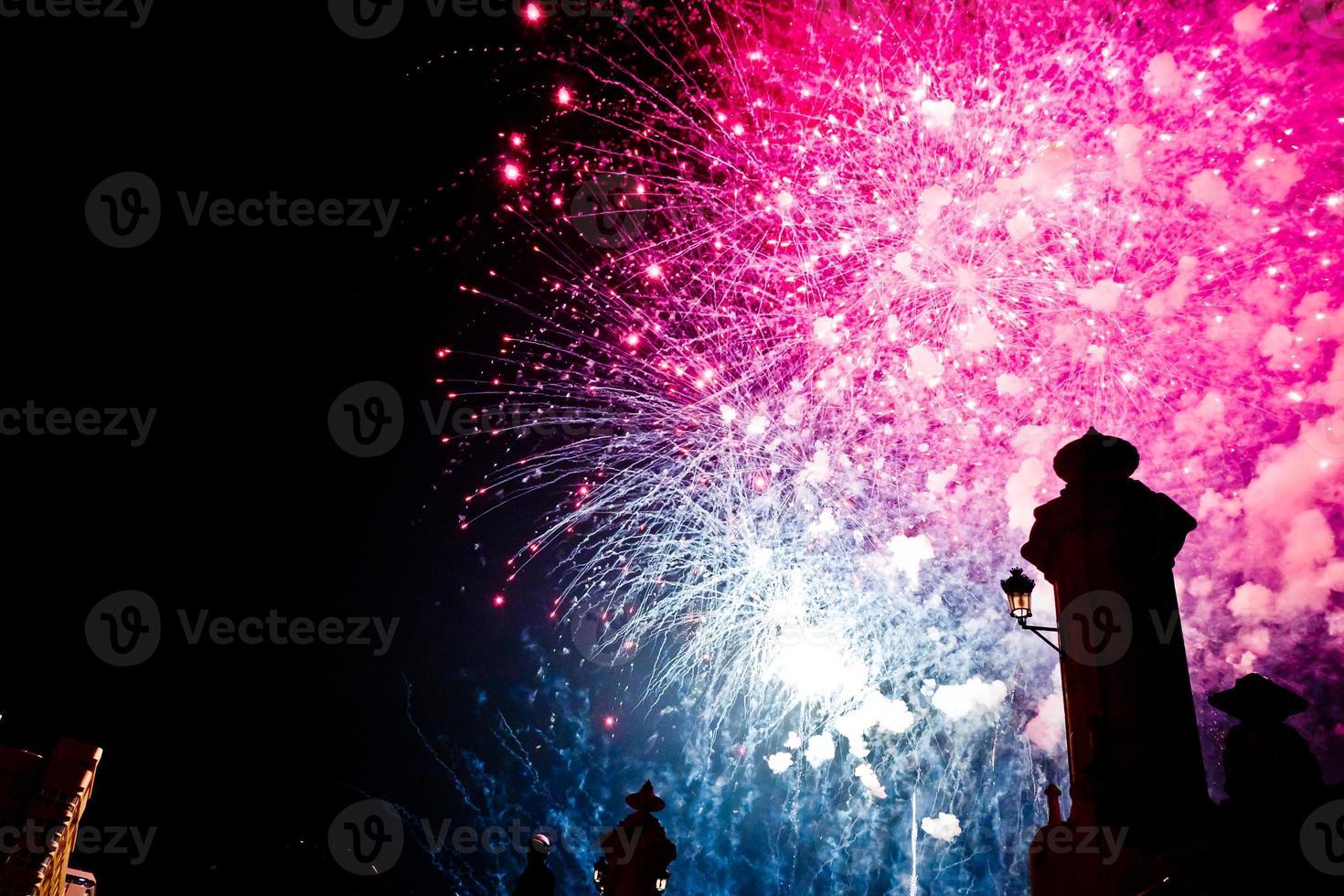 Fireworks castle VII photo