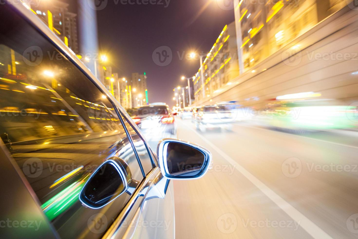 night drive blussed in motion photo