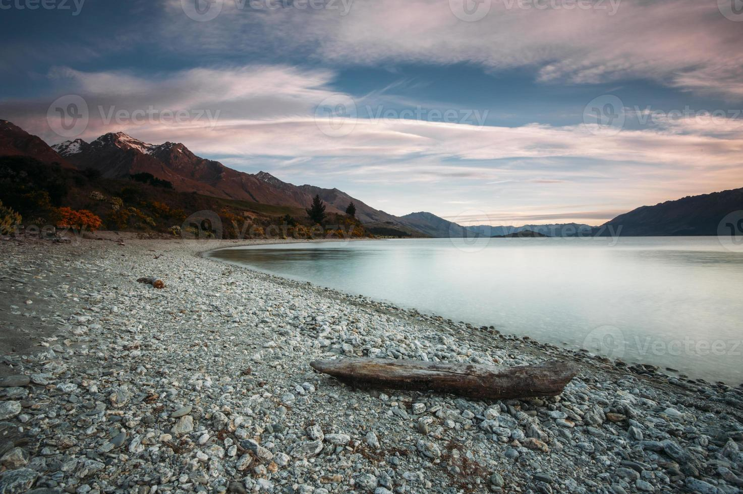 lago wakatipu, nova zelândia foto