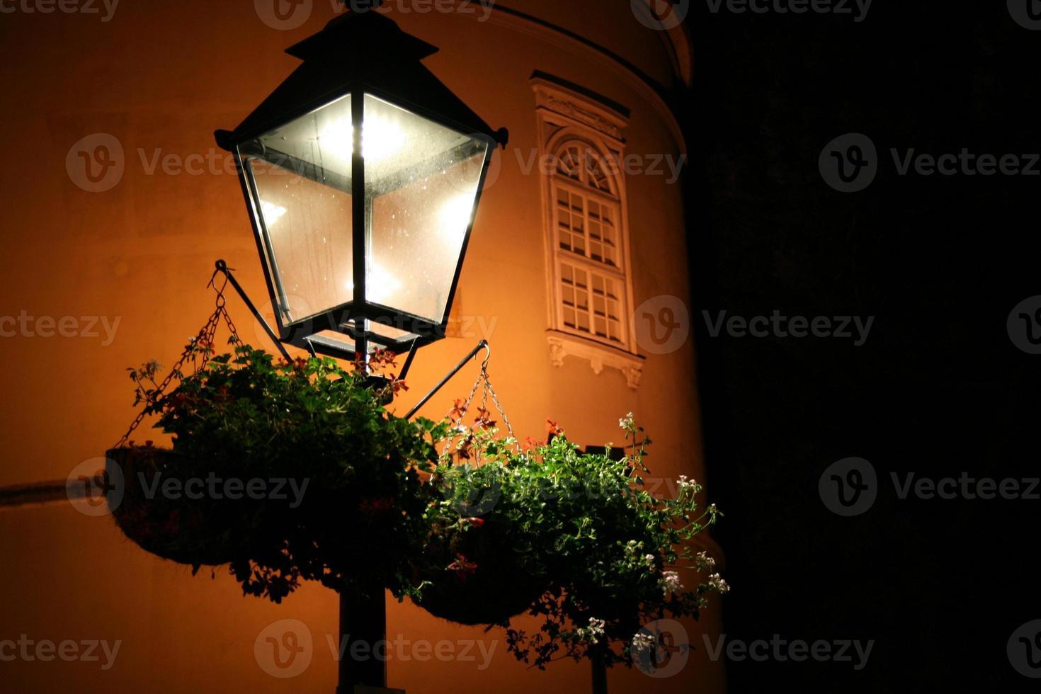 lanterna em zagreb, croácia foto