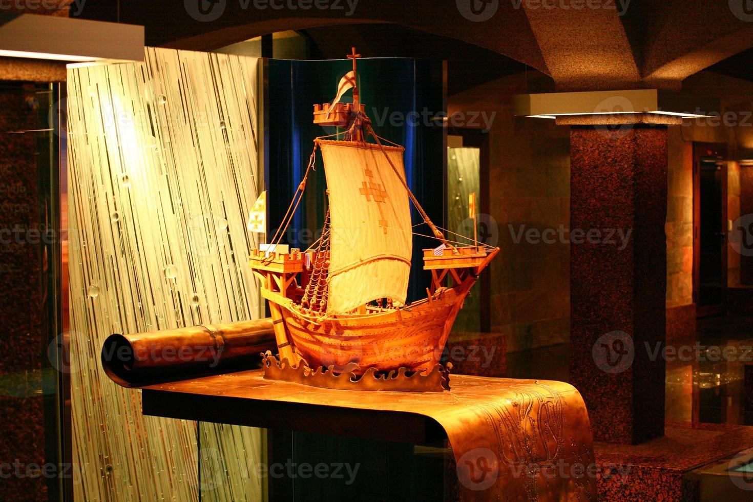 o layout de um veleiro foto