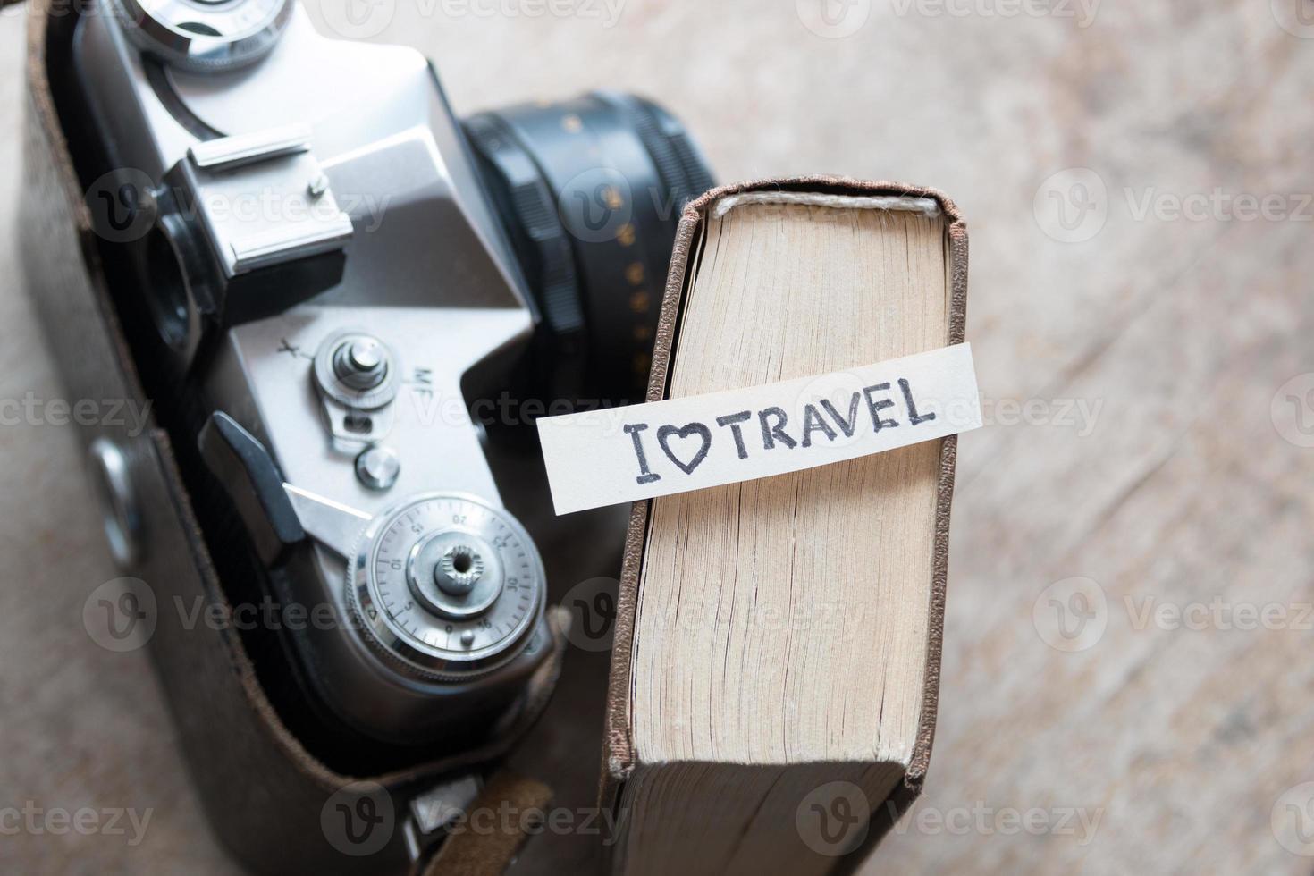 text I Love Travel photo