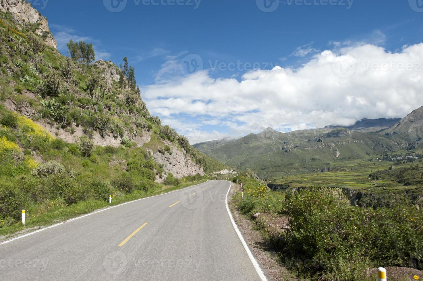 Peruvian Roadway photo