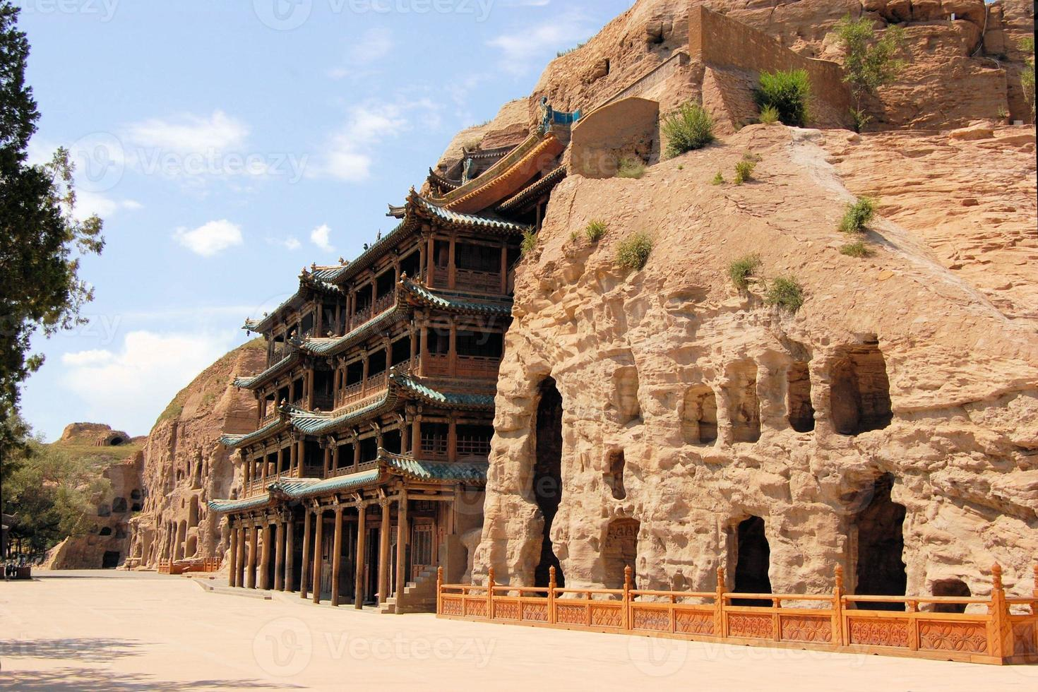 UNESCO Yungang Grottoes Buddhist caves, China photo