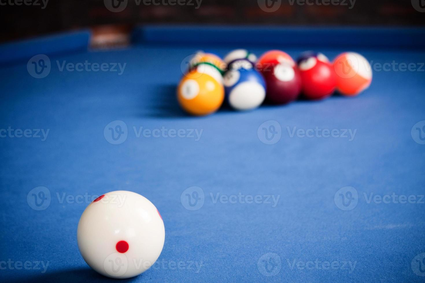 Billiard balls photo