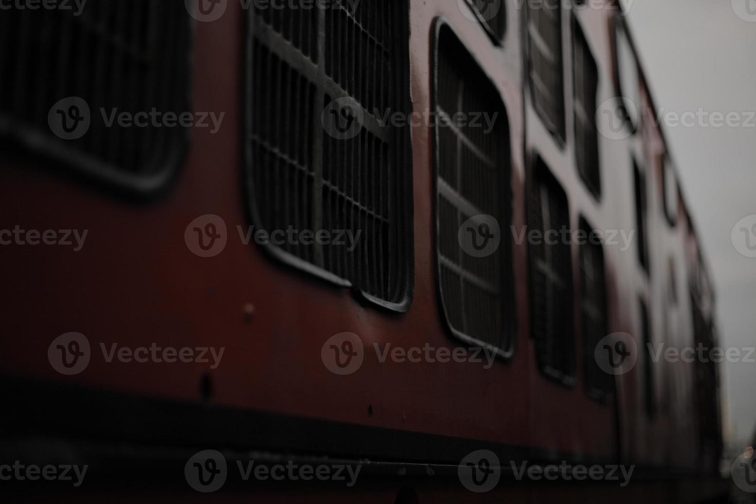 viejo tren vintage foto