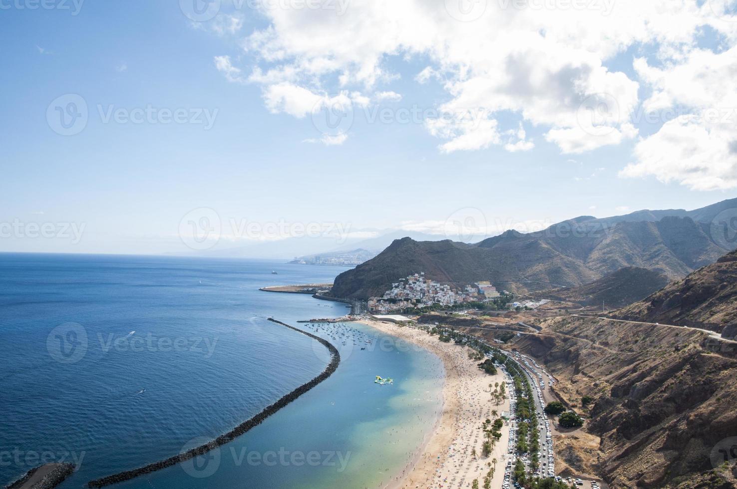 teresitas beach of Tenerife photo