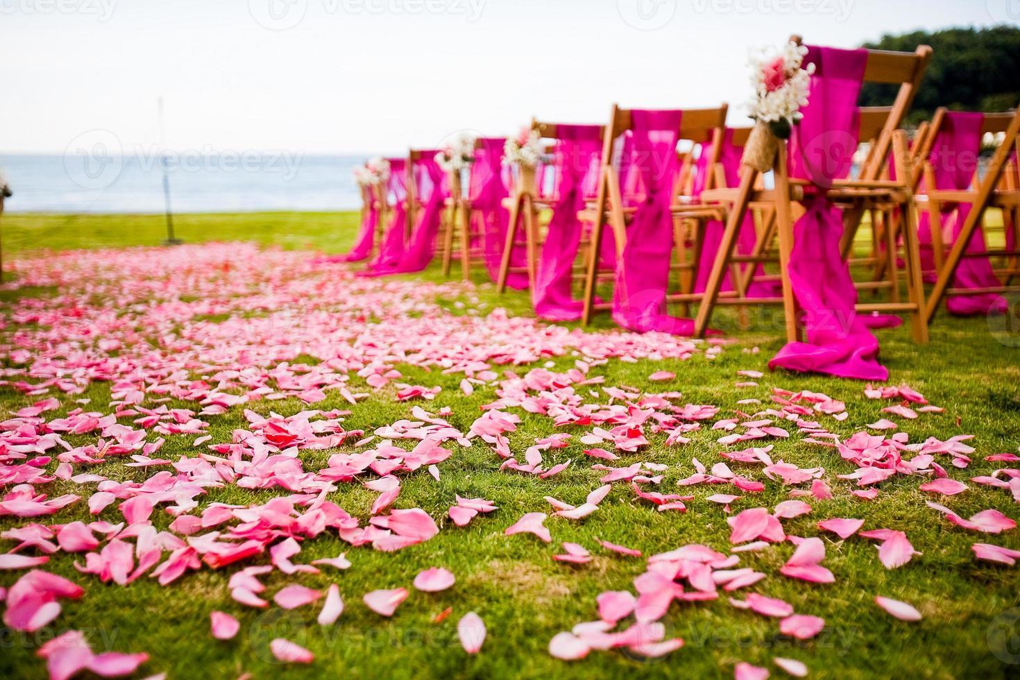 cerimônia de casamento de destino foto