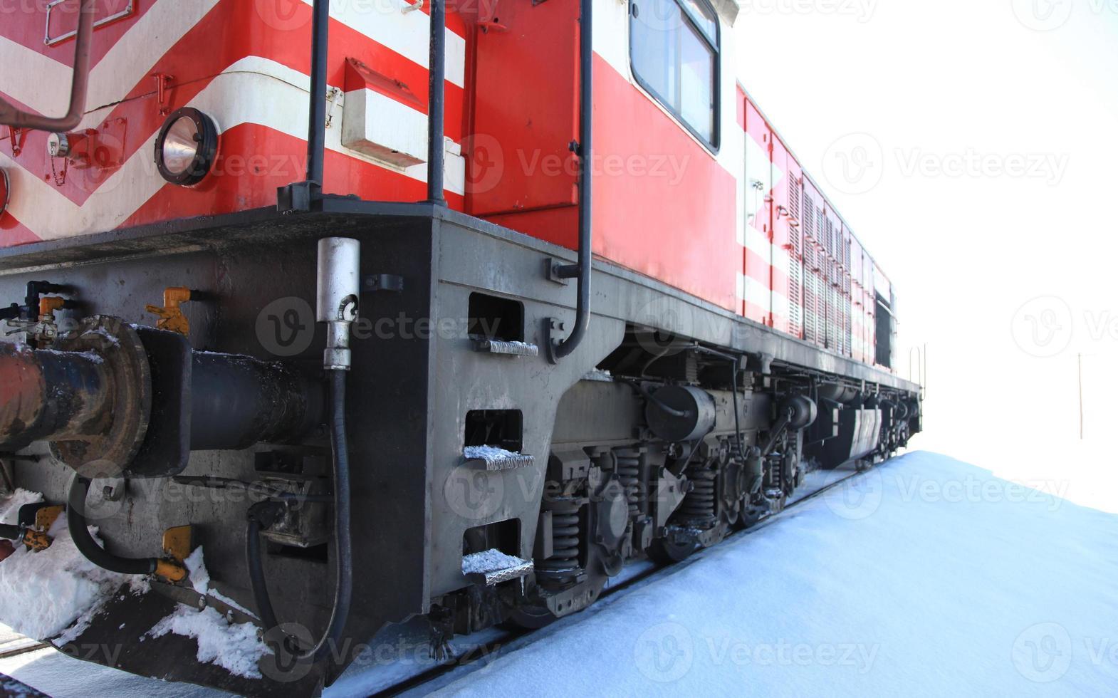 locomotora de tren foto