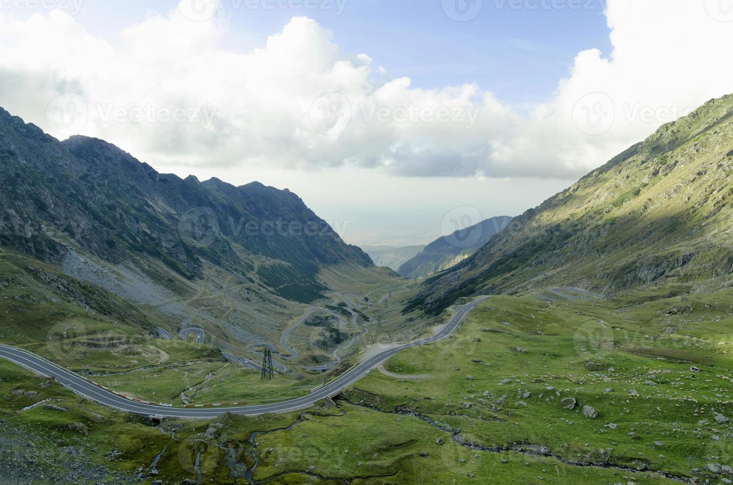 One of the most beautiful mountain roads in the world photo