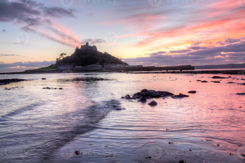 St. Michael Mount Sunset foto