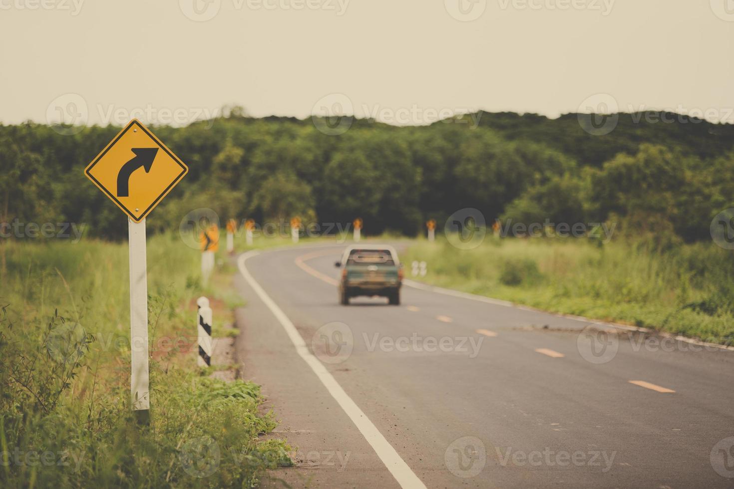 estrada rural foto