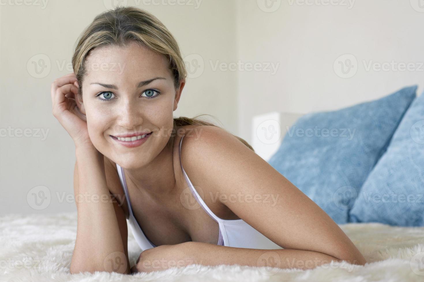 Woman Relaxing photo