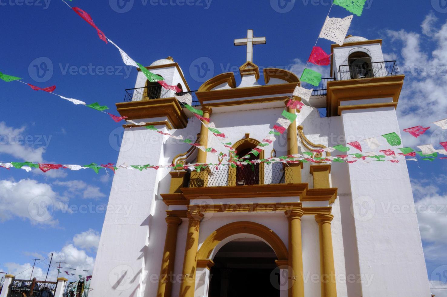 templo en mexico foto